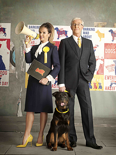 Paul O'Grady and Amanda Holden team up to make us 'paws for