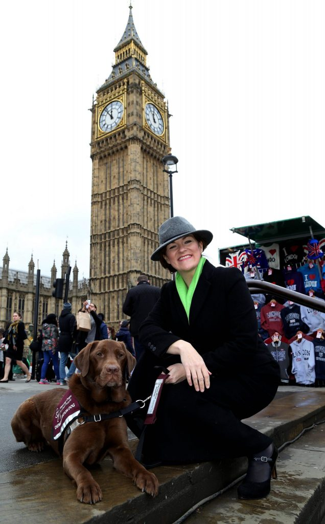 >  EDITORIAL USE ONLY > CEO of  Hearing Dogs for Deaf People Michele Jennings at the launch of Hearing Dogs for Deaf Peopleís Great British Dog Walk, at Portcullis House in London. PRESS ASSOCIATION Photo. Picture date: Wednesday March 9, 2016. The first of the walks, which are all either 3km or 8km, will set off at Gibside country state in Gateshead, Tyne and Wear on Saturday March 12th. Picture caption should read: Geoff Caddick/PA Wire
