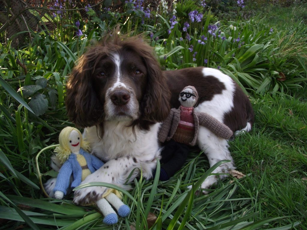 Susan's dog Snoopy who she adopted from the centre in 2011