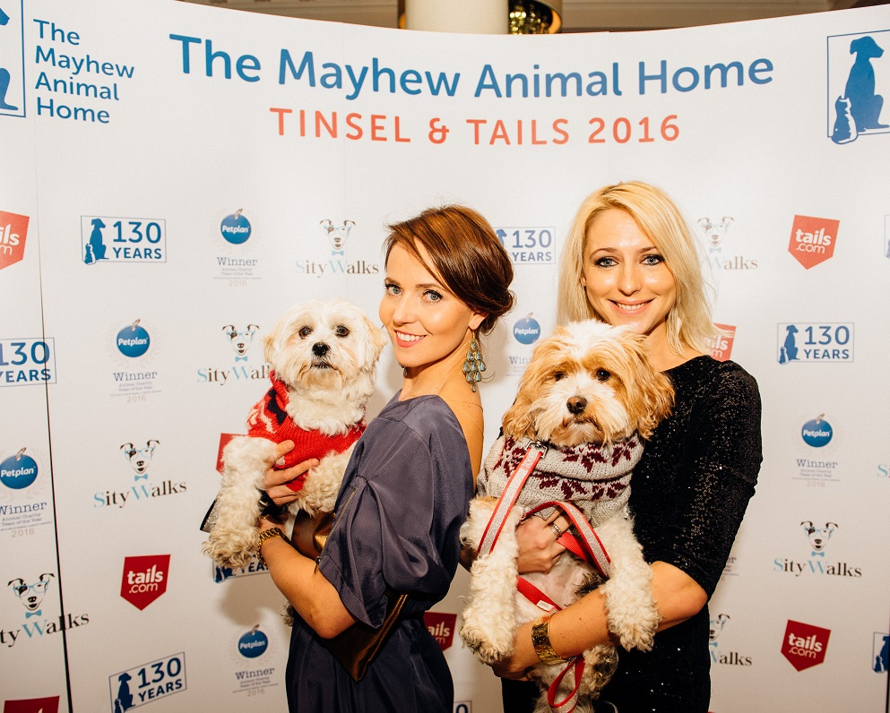 Ali Bastian (right)with dogs Molly and Mable - Credit Rowan Williams (www.rophotographs.com)