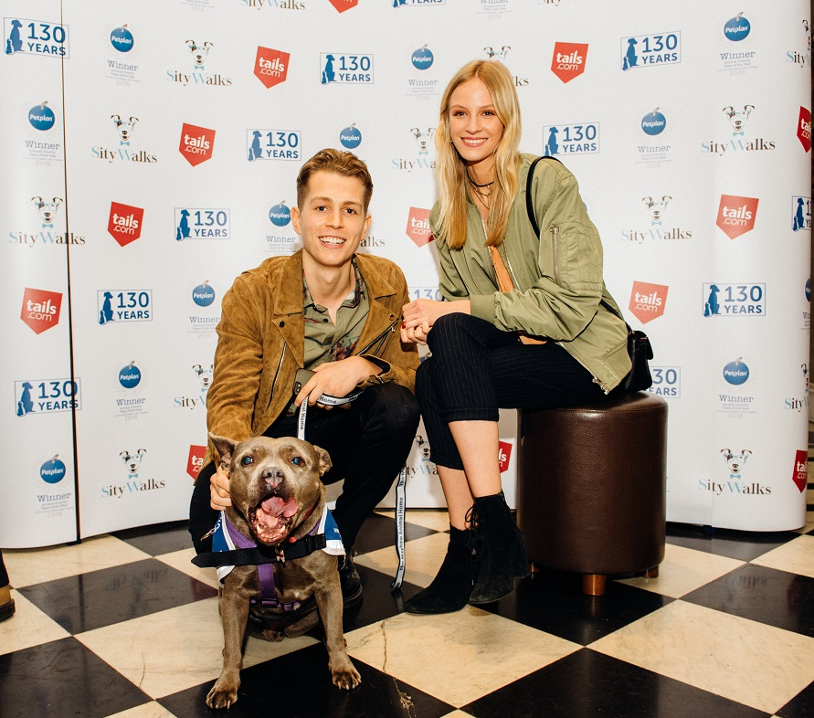 James McVey and Kirstie Brittain. Credit: Rowan Williams www.rophotographs.com