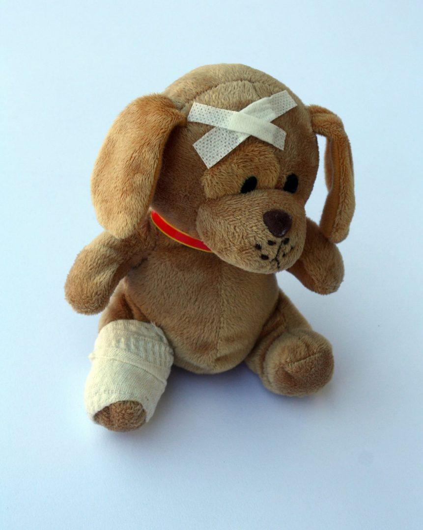 First Aid teddy