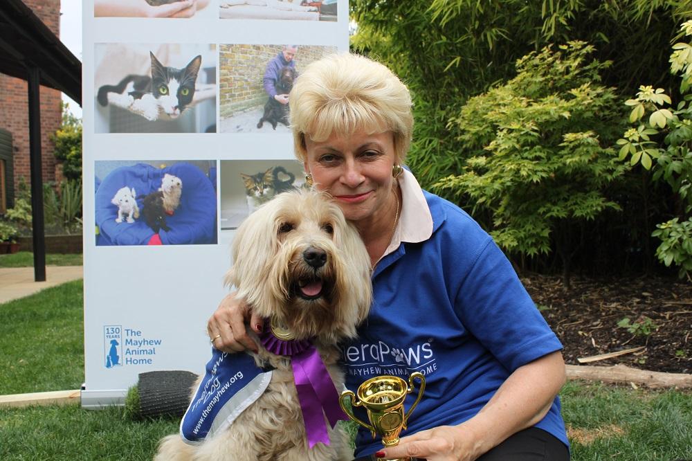 Ilonka and her dog BenJecky