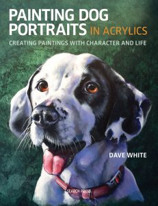 Painting Dog Portraits in Acrylic