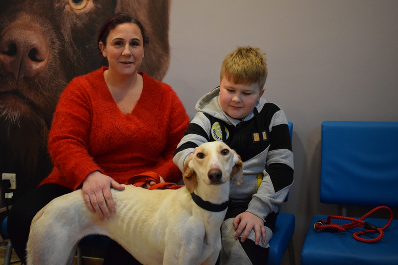 Tinker back with her family