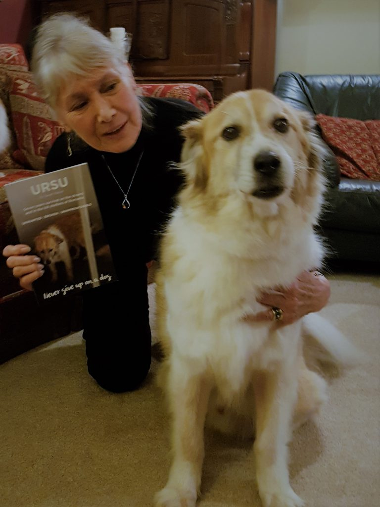 Ursu with Jan Leeming and his new book