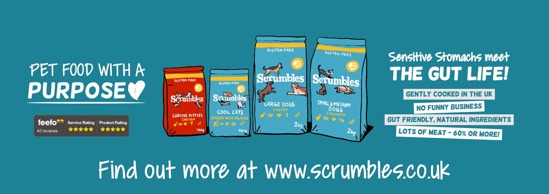 Scrumbles pet food