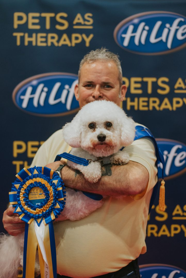 HiLife PAT Dog of the Year winners Barry and Bella