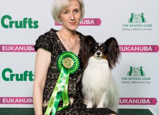 Kathleen and Dylan. Credit: Beat Media and the Kennel Club