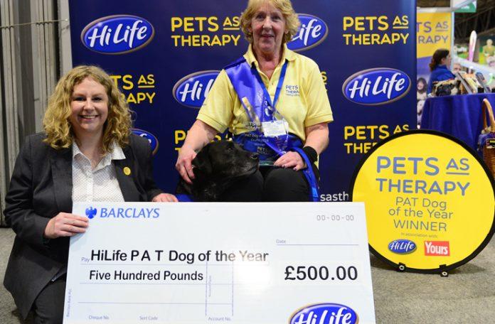 Last year's winner Sheena & Inca HiLife Pat Dog Of The Year 2018