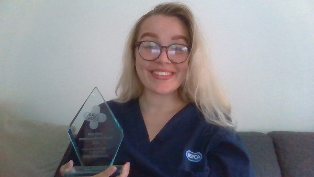 Vet Nurse of the Year receives award