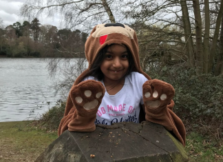 Six-year-old Daya ran 30km for animals